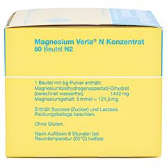 Magnesium Verla N Konzentrat 50 Stück N2 - Linke Seite