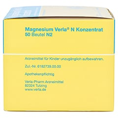 Magnesium Verla N Konzentrat 50 Stück N2 - Rechte Seite