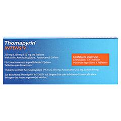 Thomapyrin INTENSIV 20 Stück N2 - Rückseite