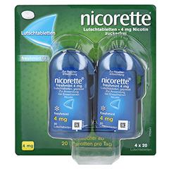 Nicorette freshmint 4mg gepresst 80 Stück - Vorderseite