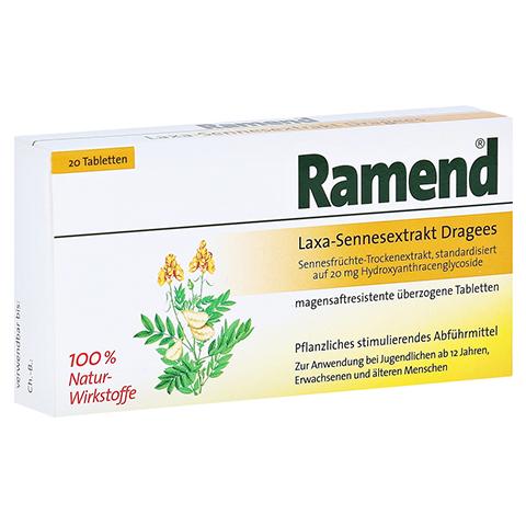 Ramend Laxa-Sennesextrakt Dragees 20 Stück