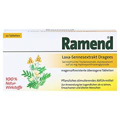 Ramend Laxa-Sennesextrakt Dragees 20 Stück - Vorderseite