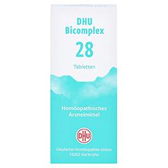 DHU Bicomplex 28 Tabletten 150 Stück N1 - Vorderseite