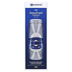 GENUTRAIN Knieband.Gr.7 schwarz 1 Stück - Vorderseite