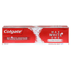 COLGATE Max White One Luminous Zahncreme 75 Milliliter - Vorderseite