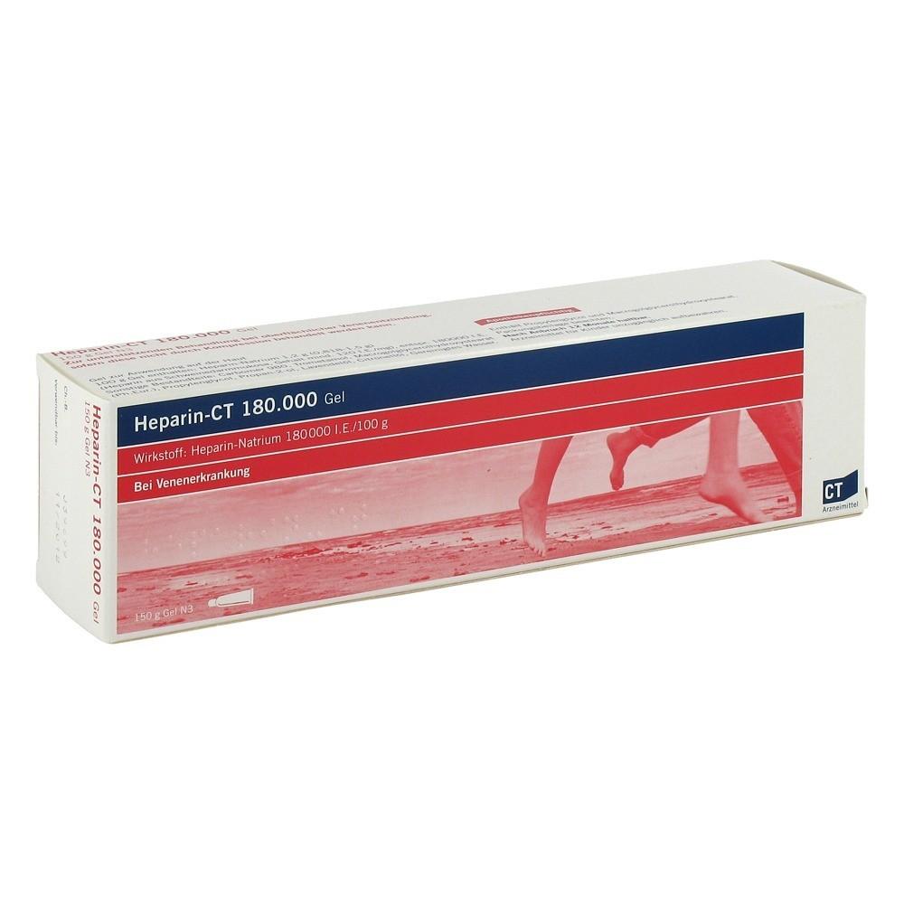 erfahrungen zu heparin ct gel 150 gramm n3 medpex versandapotheke. Black Bedroom Furniture Sets. Home Design Ideas