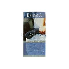 BELSANA Soft Diab.Socke 3 beige m.Silberfaser 2 Stück