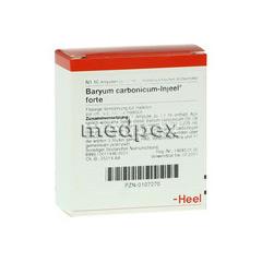 BARYUM carbonicum Injeel forte Ampullen 10 Stück N1