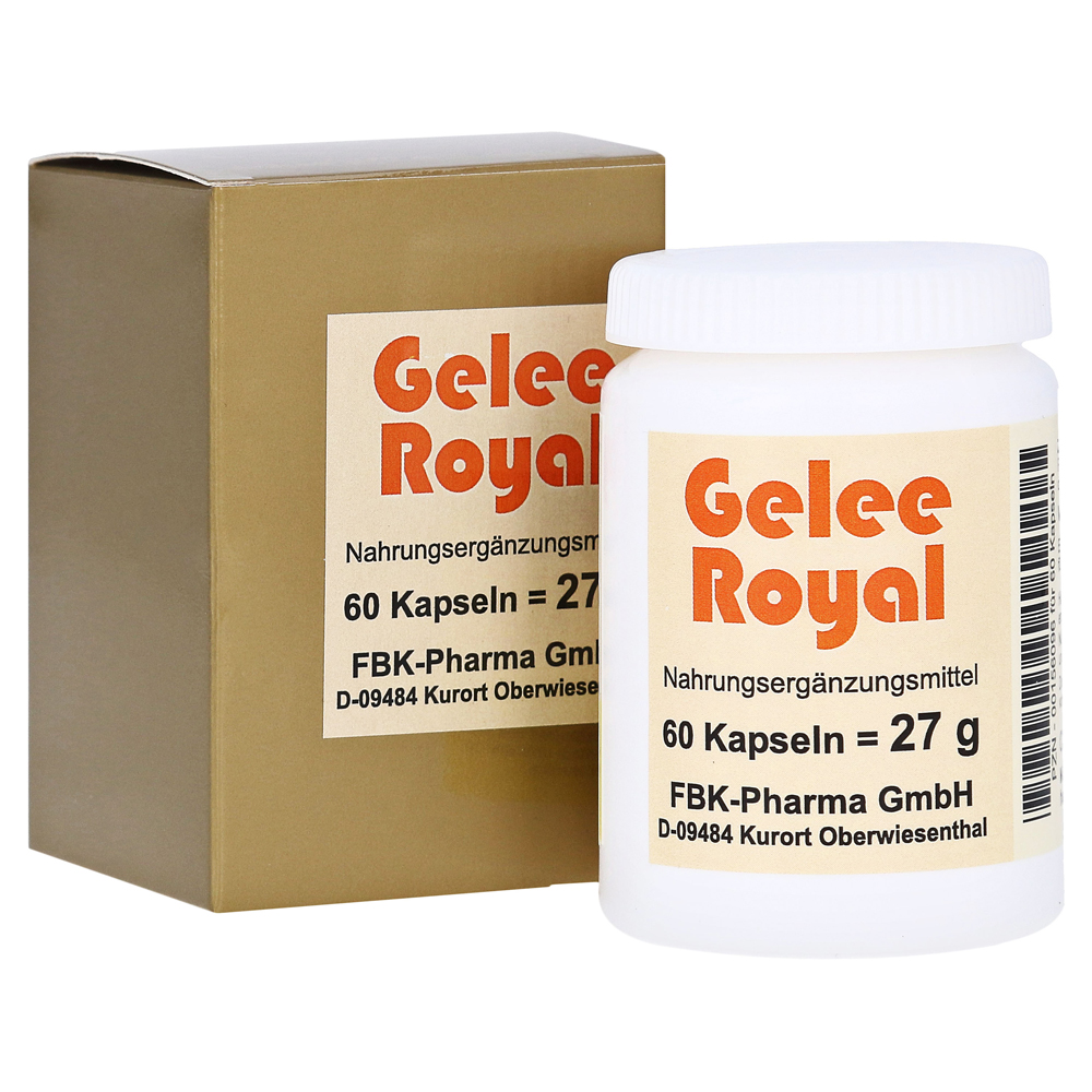 gelee royal kapseln 60 st ck online bestellen medpex versandapotheke. Black Bedroom Furniture Sets. Home Design Ideas