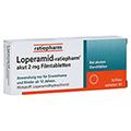 Loperamid-ratiopharm akut 2mg 10 Stück N1