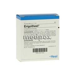 ERIGOTHEEL Ampullen 10 Stück N1