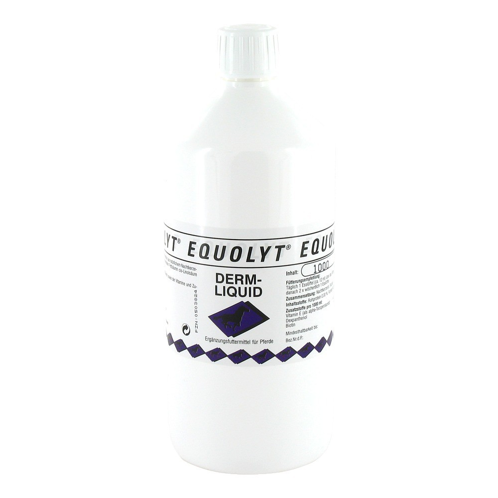 EQUOLYT Derm Liquid vet. 1000 Milliliter
