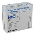 KOCHSALZLÖSUNG 0,9% Injektionslösung 10x10 Milliliter N2
