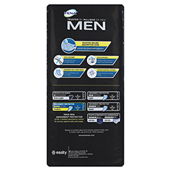 TENA MEN Level 2 Einlagen 20 Stück - Rückseite
