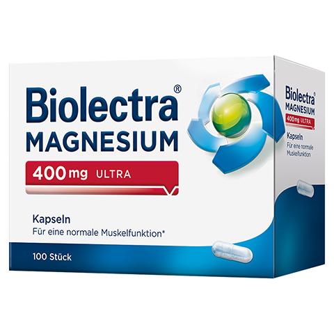 Biolectra Magnesium 400 mg ultra Kapseln 100 Stück