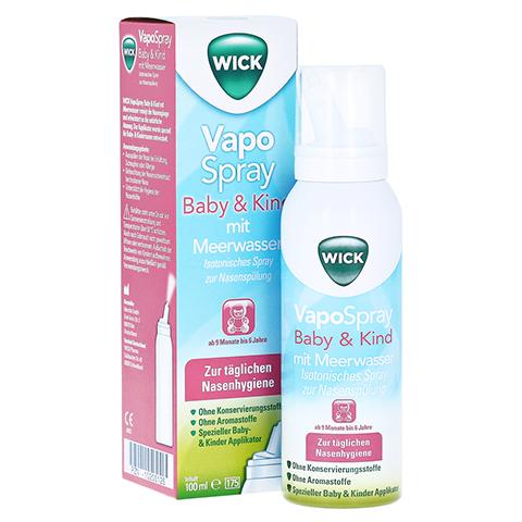WICK Vapospray Baby & Kind mit Meerwasser 100 Milliliter