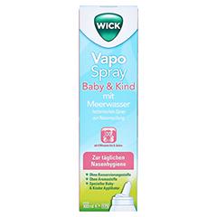 WICK Vapospray Baby & Kind mit Meerwasser 100 Milliliter - Vorderseite