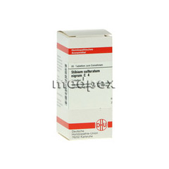 STIBIUM SULFURATUM NIGRUM C 4 Tabletten 80 Stück N1