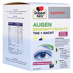 Doppelherz system Augen Sehkraft + Schutz Tag + Nacht 120 Stück