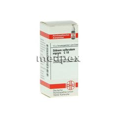 STIBIUM SULFURATUM NIGRUM C 10 Globuli 10 Gramm N1