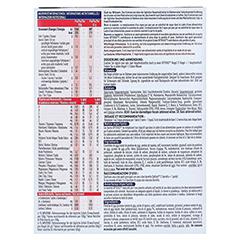 OPTIFAST Riegel Cerealien 6x65 Gramm - Rückseite