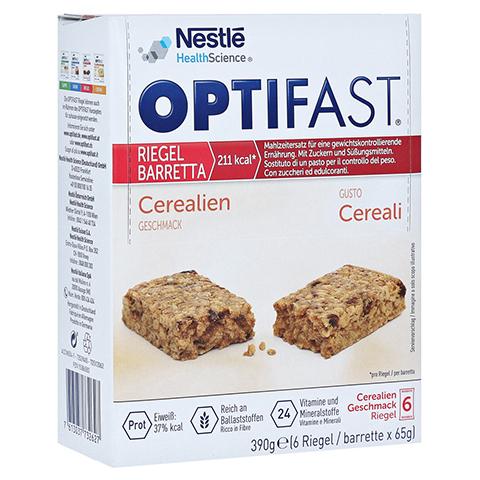 OPTIFAST Riegel Cerealien 6x65 Gramm