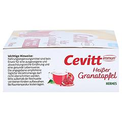CEVITT immun heißer Granatapfel zuckerfrei Gran. 14 Stück - Rechte Seite