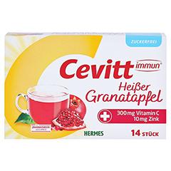 CEVITT immun heißer Granatapfel zuckerfrei Gran. 14 Stück - Vorderseite