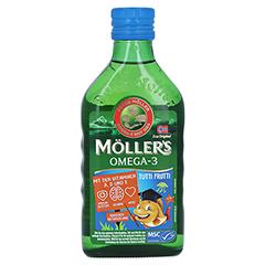 MÖLLER'S Omega-3 Kids Fruchtgeschmack Öl 250 Milliliter