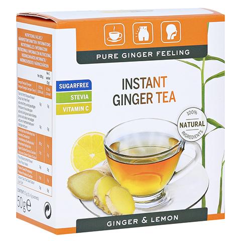 INGWER GINJER Instant Tee Zitrone 50 Gramm