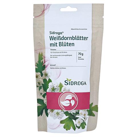 Sidroga Weißdornblätter mit Blüten 70 Gramm