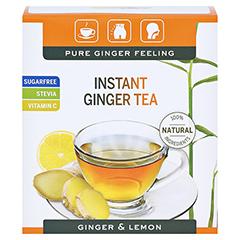 INGWER GINJER Instant Tee Zitrone 50 Gramm - Vorderseite