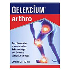 GELENCIUM arthro Mischung 2x100 Milliliter - Vorderseite