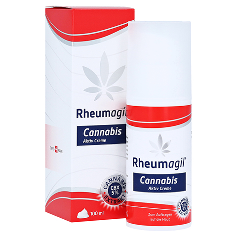 RHEUMAGIL Cannabis Aktiv Creme 100 Milliliter