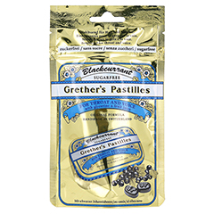GRETHERS Blackcurrant Silber zf.Past.Beutel Refill 100 Gramm