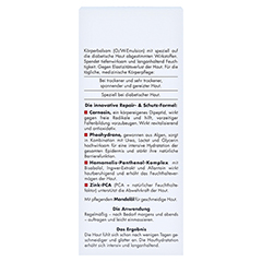 EUBOS DIABETISCHE HAUT PFLEGE Körper Lotion 150 Milliliter - Rückseite