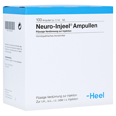 NEURO INJEEL Ampullen 100 Stück N3
