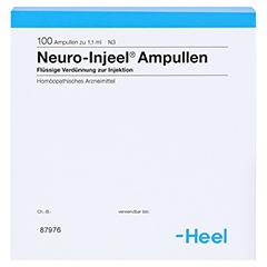 NEURO INJEEL Ampullen 100 Stück N3 - Rückseite
