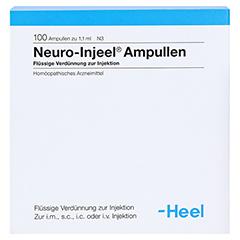 NEURO INJEEL Ampullen 100 Stück N3 - Vorderseite