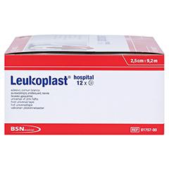 LEUKOPLAST Hospital 2,5 cmx9,2 m 12 Stück - Rechte Seite