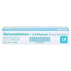 Reisetabletten-1A Pharma 20 Stück N1 - Oberseite