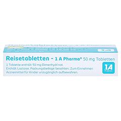 Reisetabletten-1A Pharma 20 Stück N1 - Unterseite