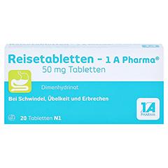 Reisetabletten-1A Pharma 20 Stück N1 - Vorderseite