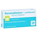 Reisetabletten-1A Pharma + gratis 1A Pharma Reisebeutel 20 Stück N1