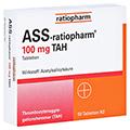 ASS-ratiopharm 100mg TAH 50 Stück N2