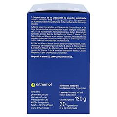 Orthomol Immun Direktgranulat Menthol-Himbeere 30 Stück - Linke Seite