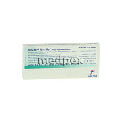 ISCADOR M c.Hg 1 mg Injektionslösung 7x1 Milliliter N1