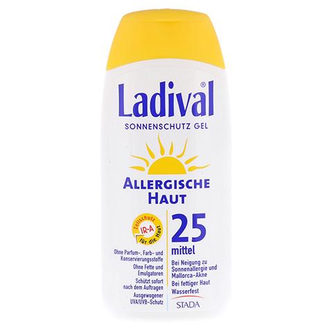 LADIVAL allergische Haut Gel LSF 25 200 Milliliter