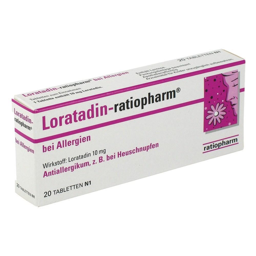erfahrungen zu loratadin ratiopharm b allergien 10 mg. Black Bedroom Furniture Sets. Home Design Ideas
