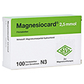 Magnesiocard 2,5mmol 100 Stück N3